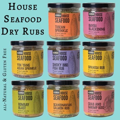 House Seafood Dry Rubs