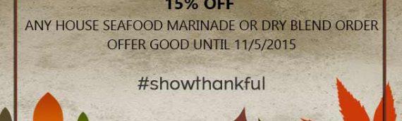 #showthankful